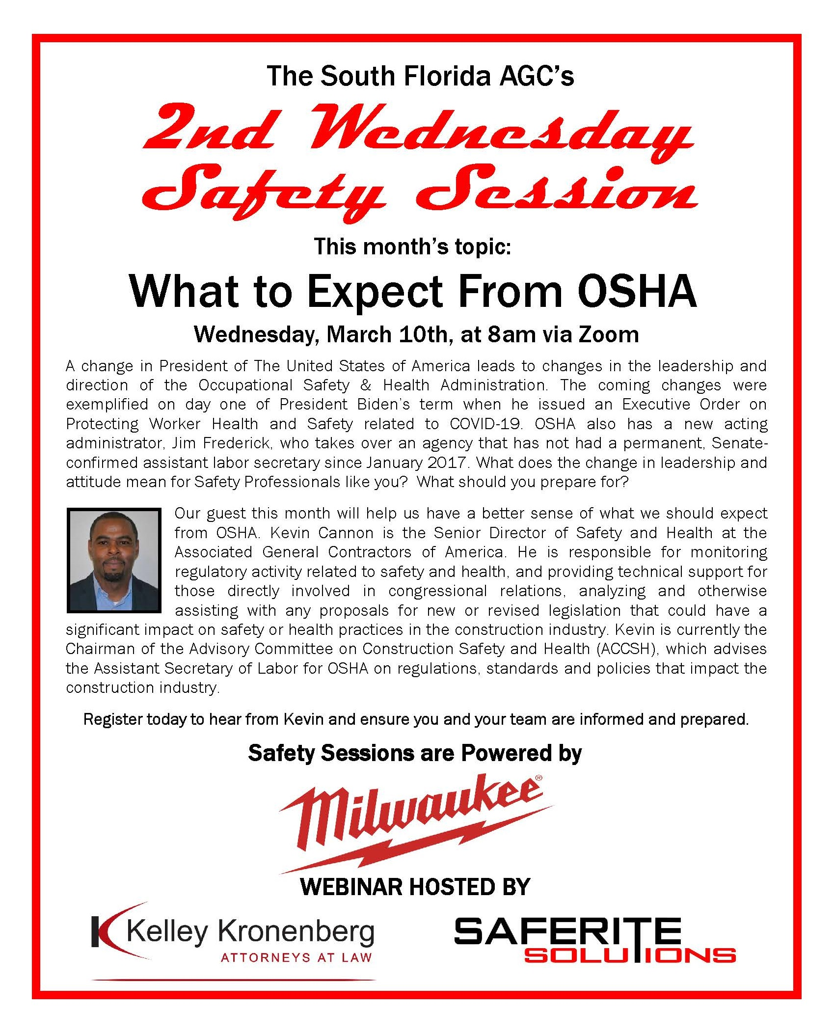 March 2021 What to Expect from OSHA Web
