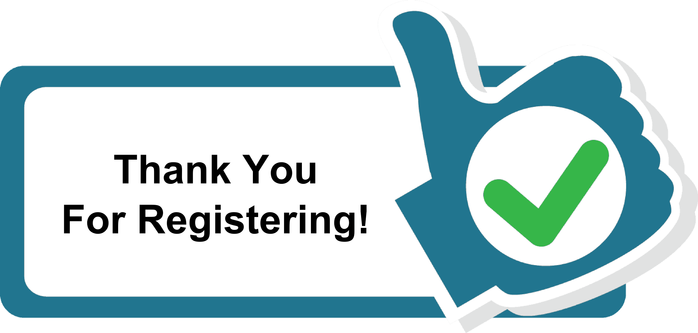 Thank you for registering
